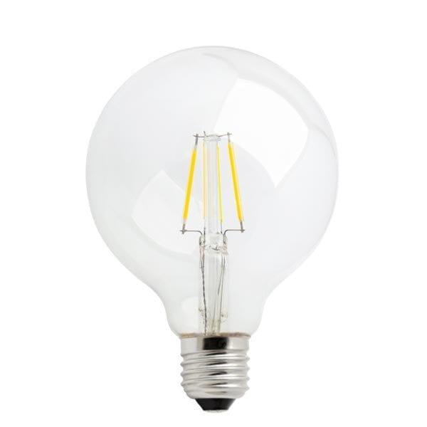4W E27 LED lemputė G95 Premium Clear