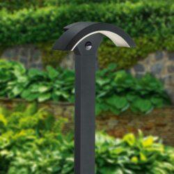 Pastatomas LED lauko šviestuvas Ohio Sensor