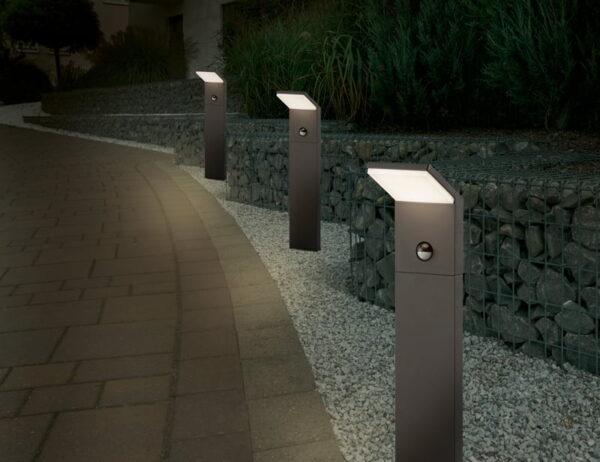 Pastatomas LED lauko šviestuvas Pearl Sensor