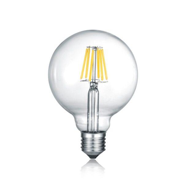 8W E27 LED Lemputė G95 Switch Dim