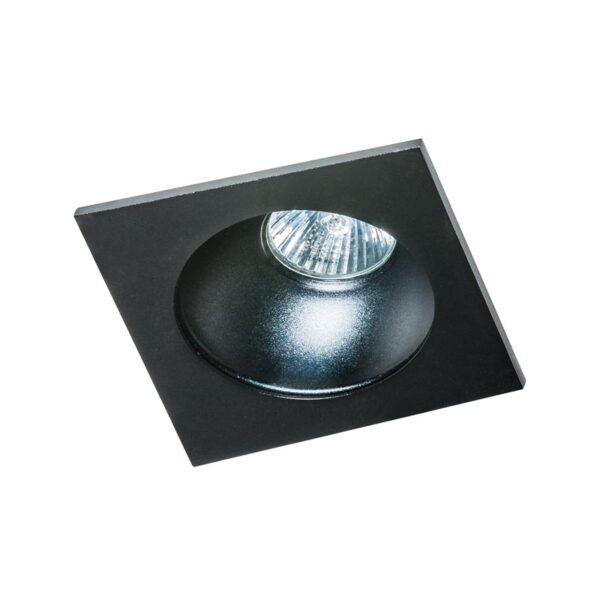 Įmontuojamas šviestuvas Hugo juodas