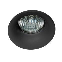 Įmontuojamas šviestuvas IVO juodas