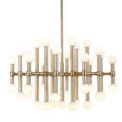Pakabinamas LED šviestuvas Giovanna Vintage Gold 37
