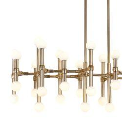Pakabinamas LED šviestuvas Giovanna Vintage Gold 38