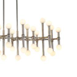 Pakabinamas LED šviestuvas Giovanna Nickel 38