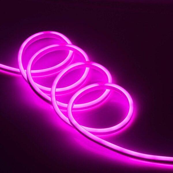 LED juosta NEON FLEX rožinė