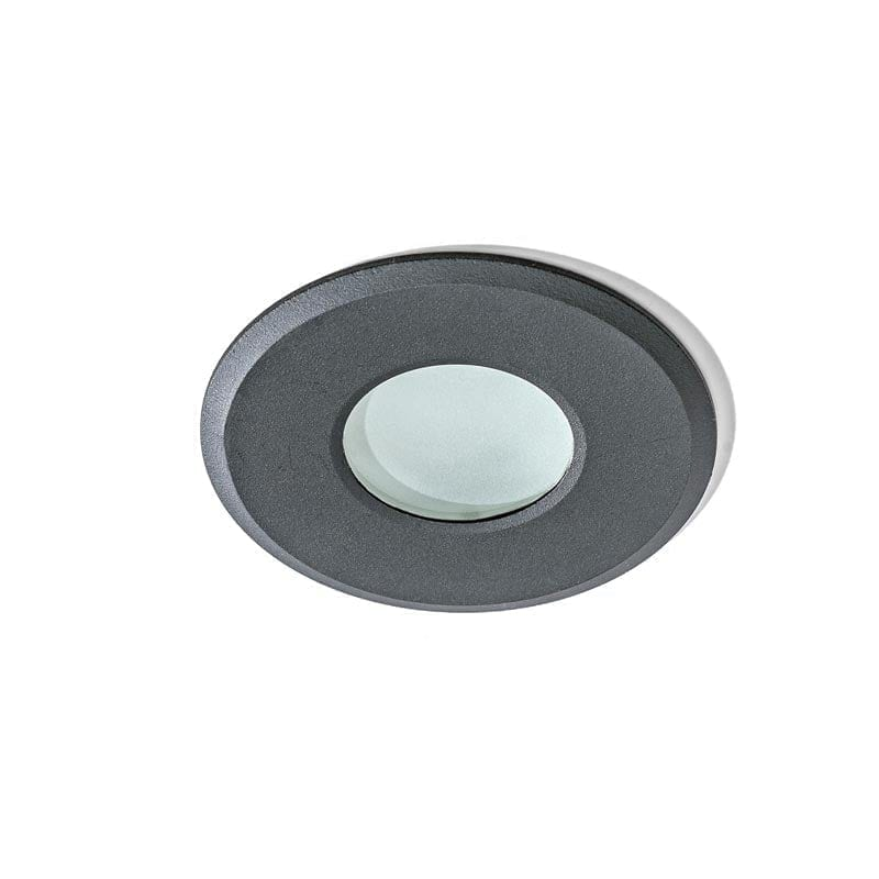 Įmontuojamas šviestuvas OSCAR IP44 juoda