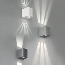 Sieninis LED lauko šviestuvas Bogota