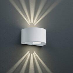 Sieninis LED lauko šviestuvas Rosario