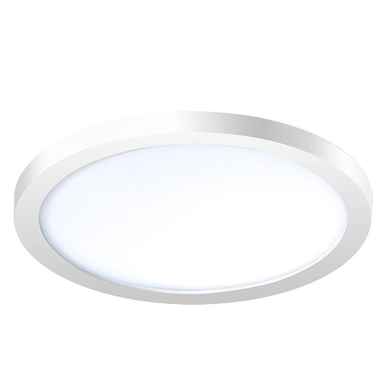 Įmontuojamas šviestuvas SLIM R2 IP44 balta