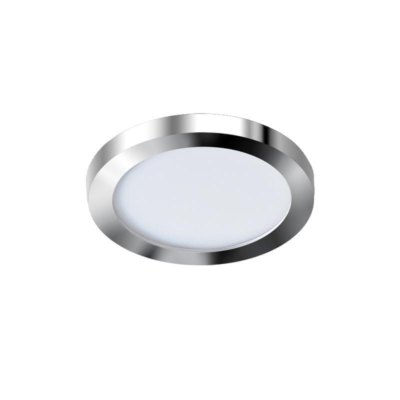 Įmontuojamas šviestuvas SLIM R IP44 chromo