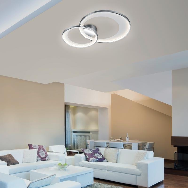 Lubinis LED šviestuvas Granada V2 Chrome