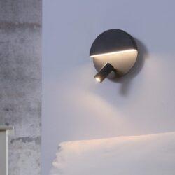 Sieninis LED šviestuvas Mario