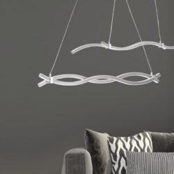 Pakabinamas LED šviestuvas Wave