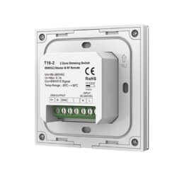 Sieninis sensorinis LED valdiklis T16-2 nugara
