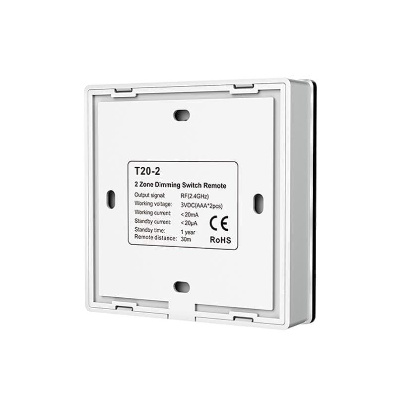 Išorinis sensorinis LED valdiklis T20-2 nugara