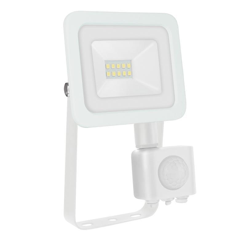 10W LED prožektorius NOCTIS2 SENS baltas