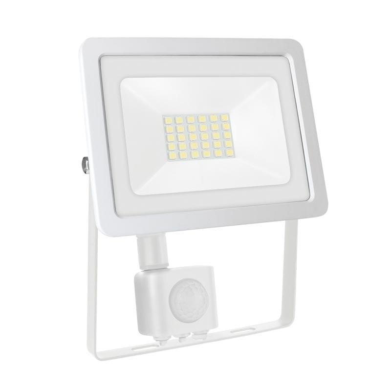 20W LED prožektorius NOCTIS2 SENS baltas