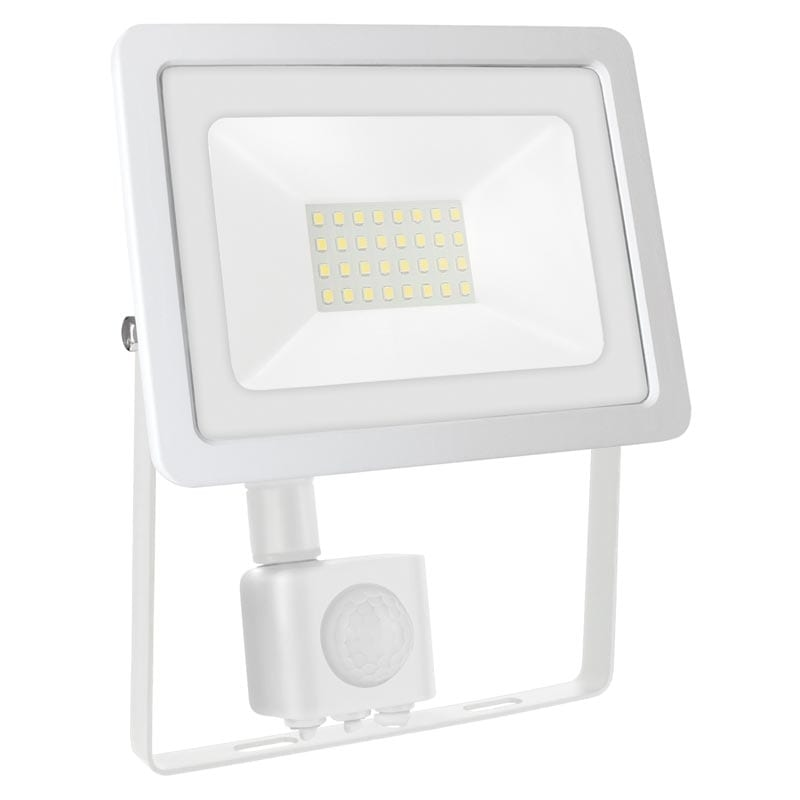 30W LED prožektorius NOCTIS2 SENS baltas