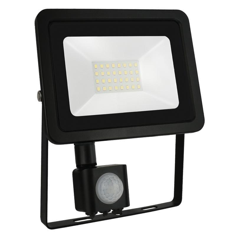 30W LED prožektorius NOCTIS2 SENS juodas