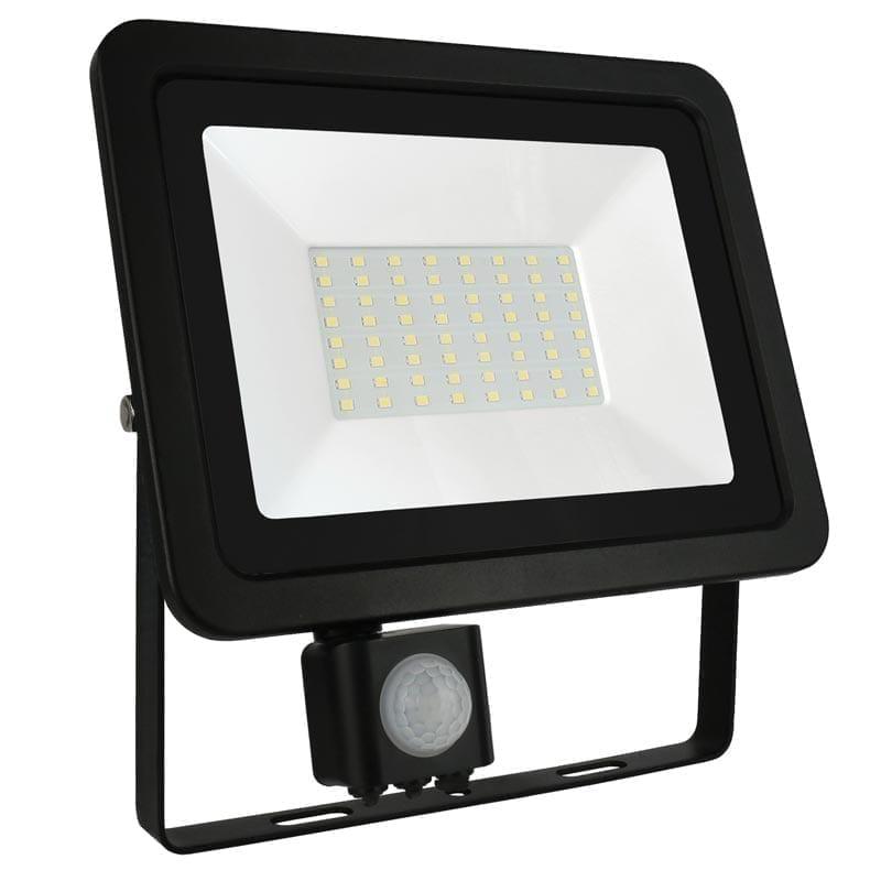 50W LED prožektorius NOCTIS2 SENS juodas
