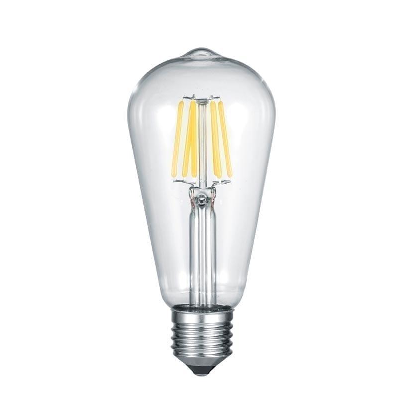 6W 3000K E27 LED lemputė ST64