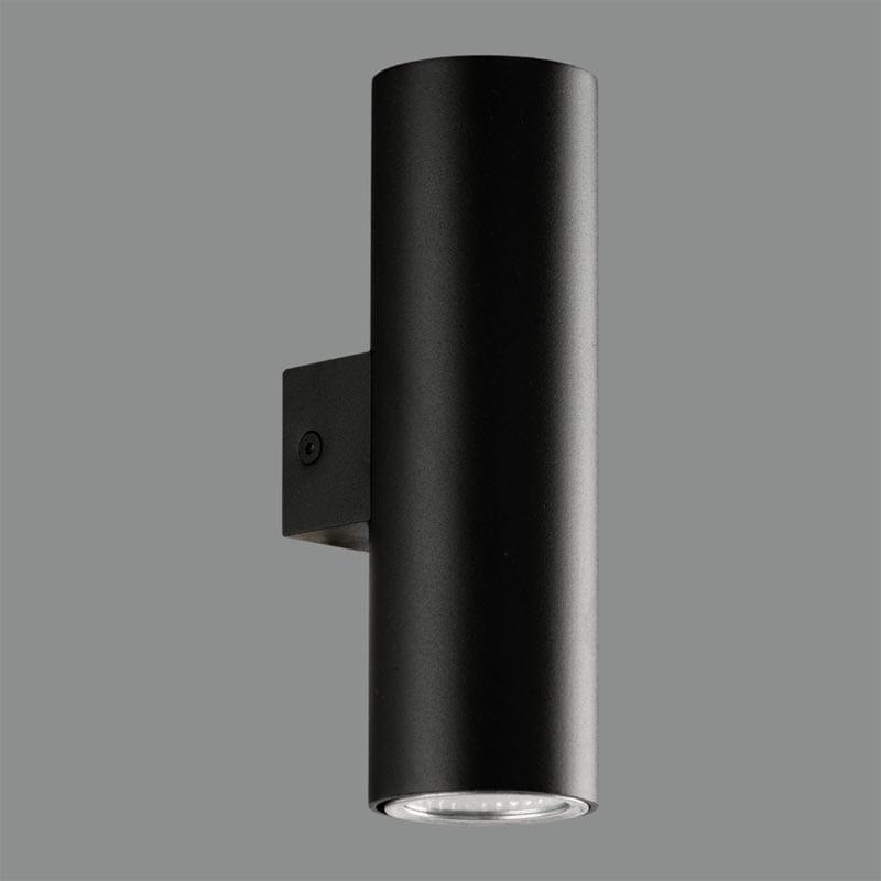 Sieninis šviestuvas ZOOM Black