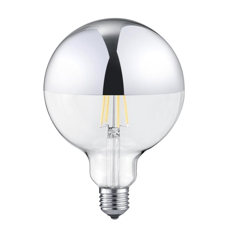 7W 2700K E27 LED lemputė Chrome Cupola