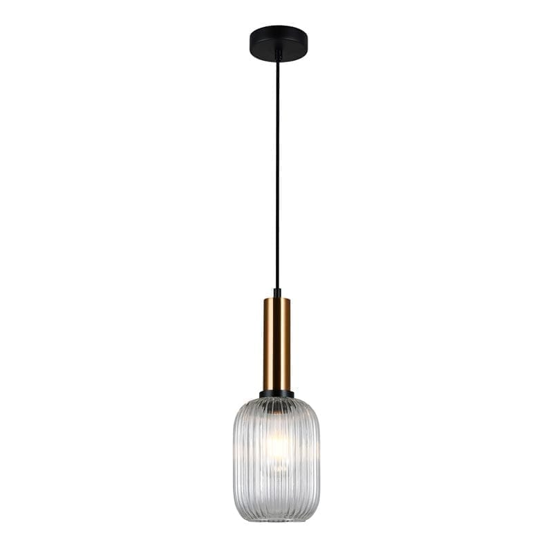 Pakabinamas šviestuvas Antiola Brass/Transparent ⌀15