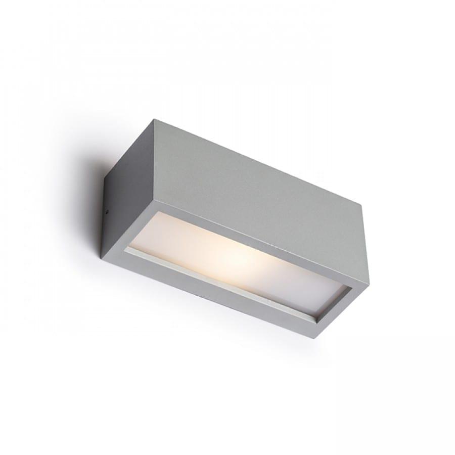 Sieninis lauko šviestuvas Durant up - down Silver - grey