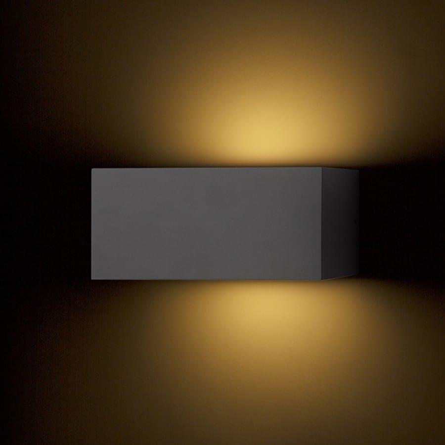 Sieninis lauko šviestuvas Durant up - Down Anthracite