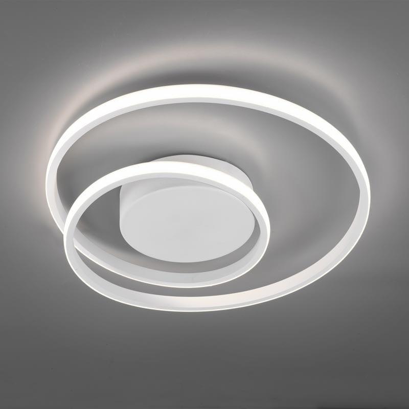 Lubinis LED šviestuvas Zibal White