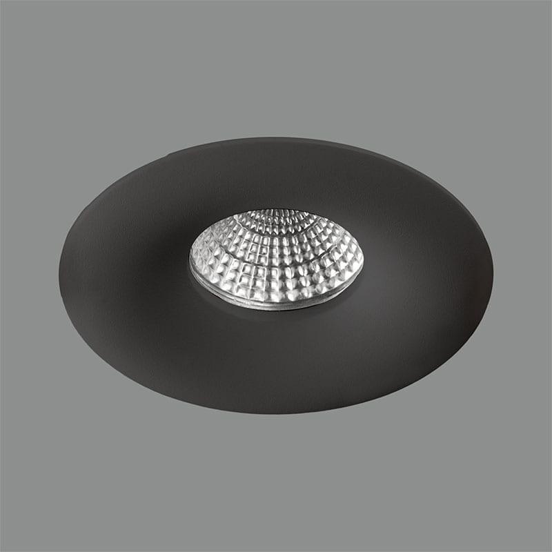 Įmontuojamas šviestuvas ANTEA Black