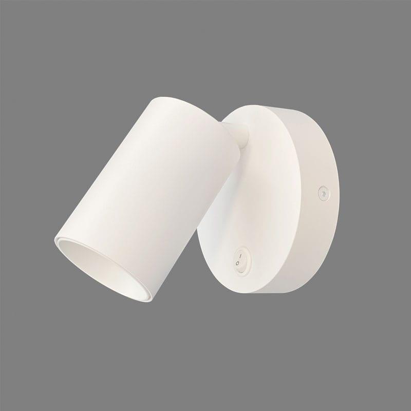 Sieninis šviestuvas GINA White