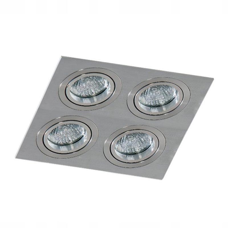 Įmontuojamas kryptinis šviestuvas Caro 4 Aluminium