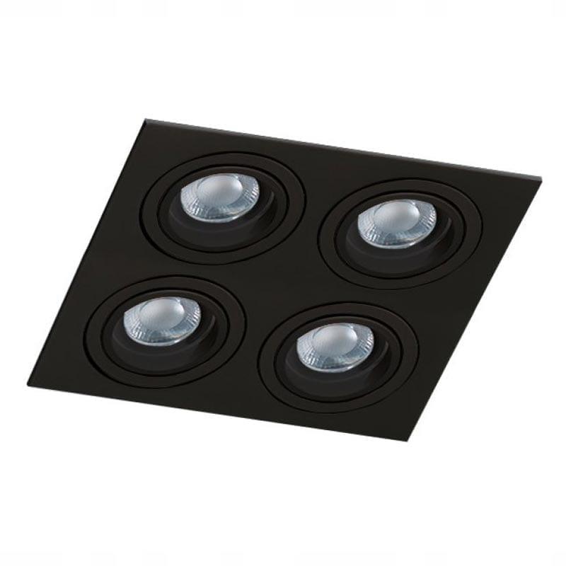 Įmontuojamas kryptinis šviestuvas Caro 4 Black