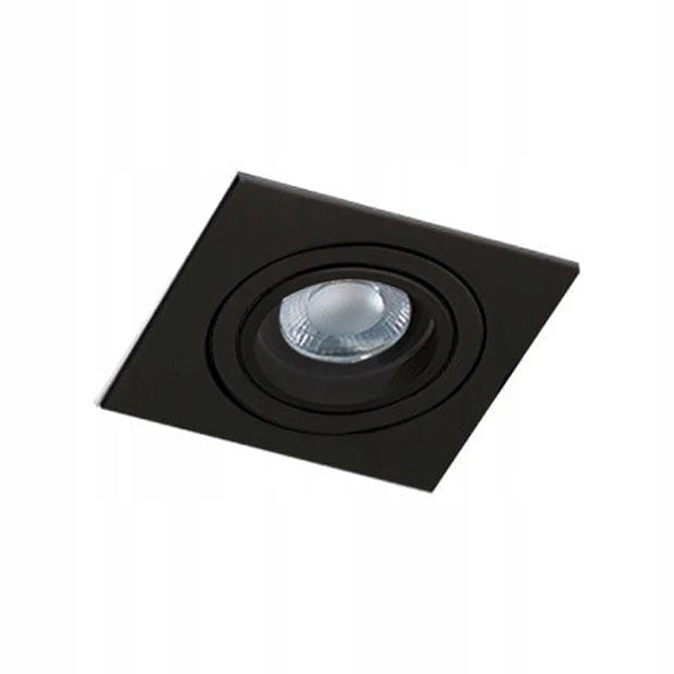 Įmontuojamas kryptinis šviestuvas Caro SQ Black