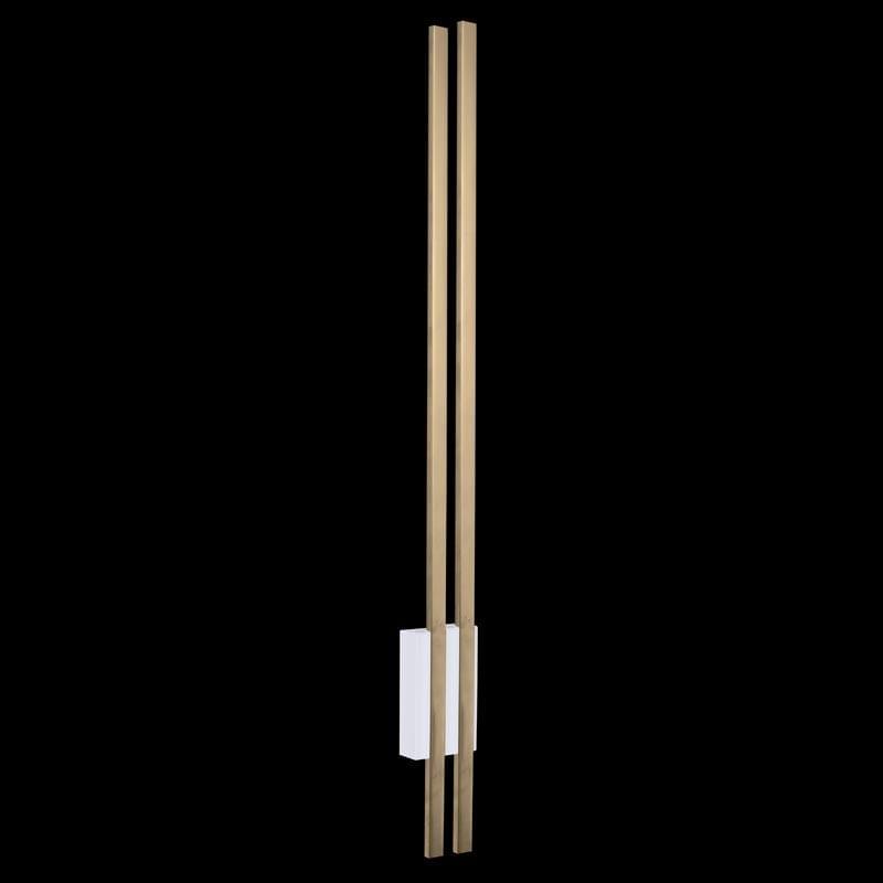 Sieninis šviestuvas Ebora 2 White Gold