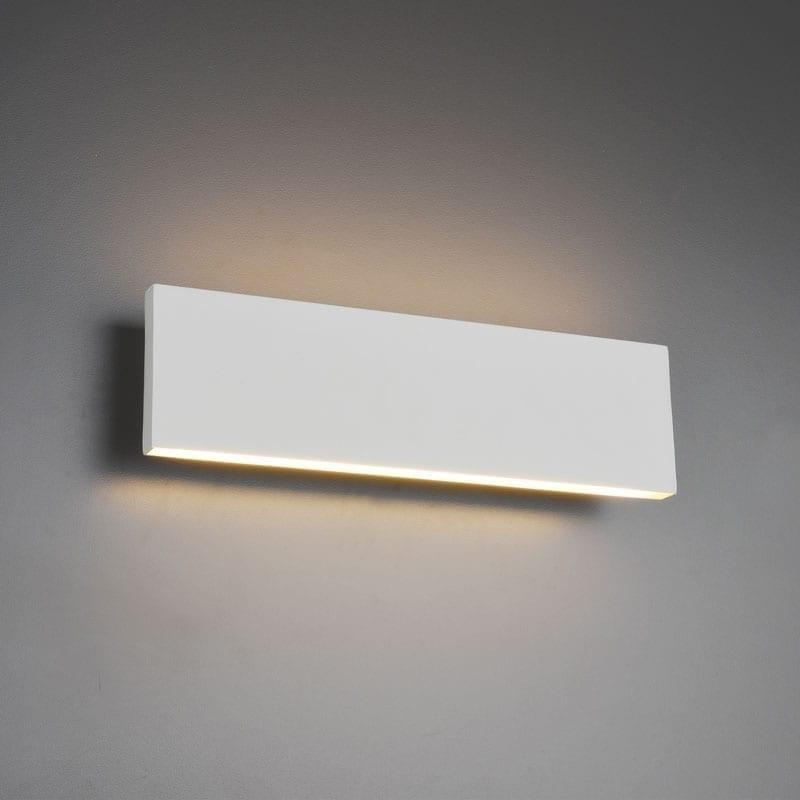 Sieninis šviestuvas Concha Matt White