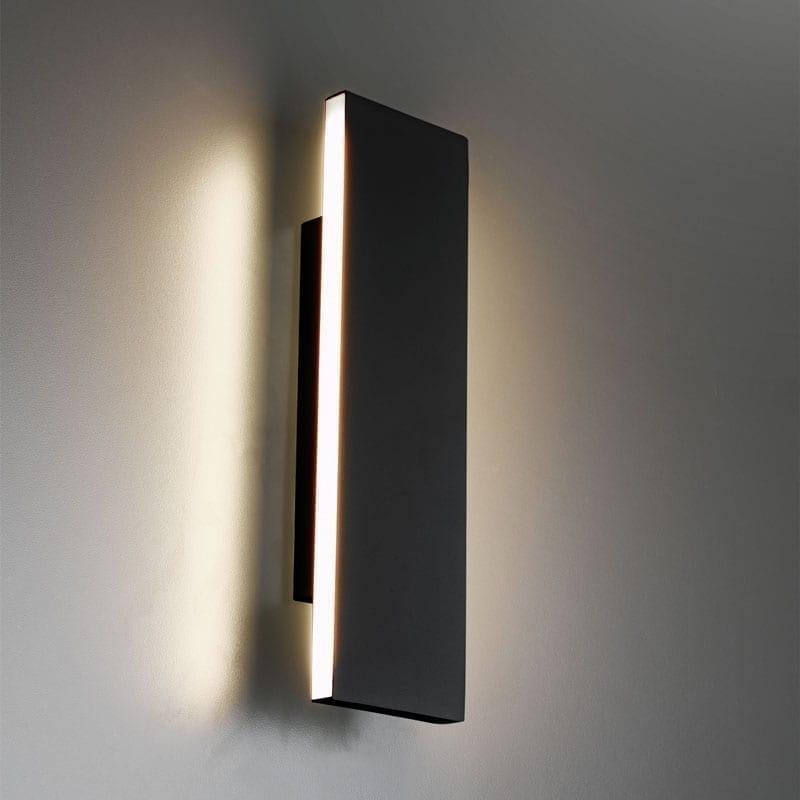 Sieninis šviestuvas Concha Anthracite