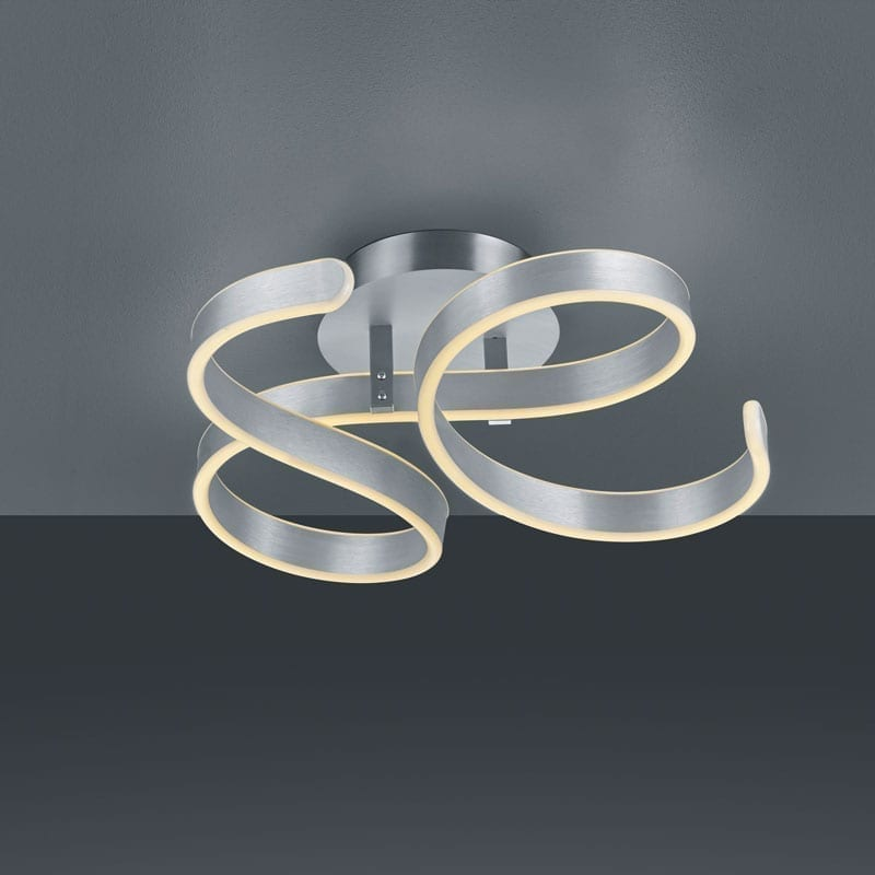 Lubinis LED šviestuvas Francis Brushed Aluminium