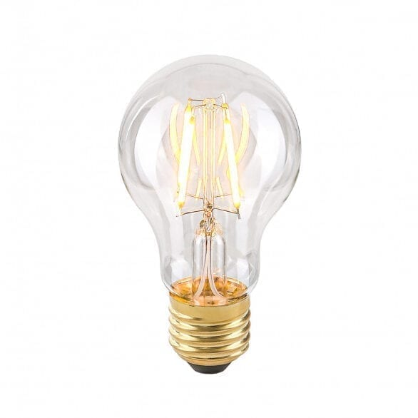 Dekoratyvinė lemputė E27 4W Warm A60 Clear