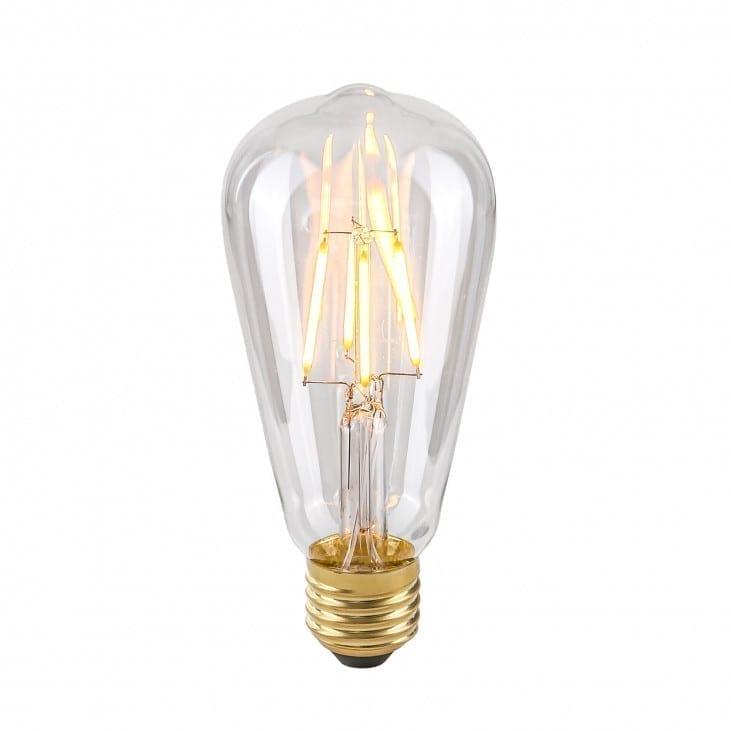 Dekoratyvinė lemputė E27 4W ST64 Clear