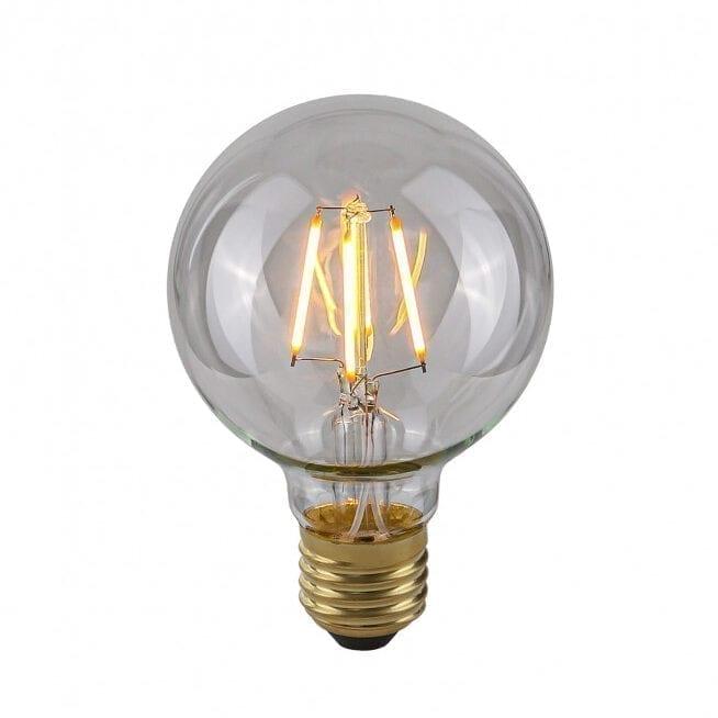 Dekoratyvinė lemputė E27 4W G80 Clear