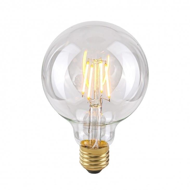 Dekoratyvinė lemputė E27 4W G95 Clear