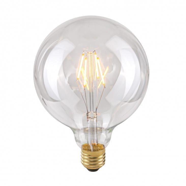 Dekoratyvinė lemputė E27 4W G125 Clear