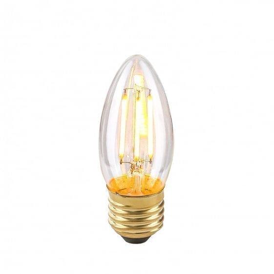 Dekoratyvinė lemputė E27 4W B35 Clear
