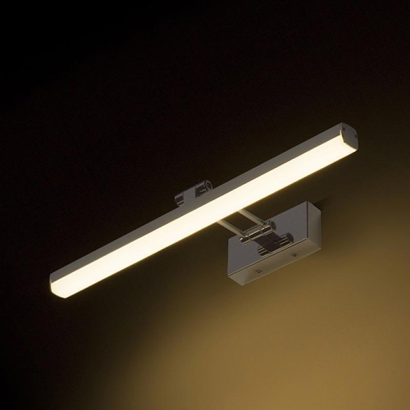 Sieninis LED šviestuvas Swing Chrome
