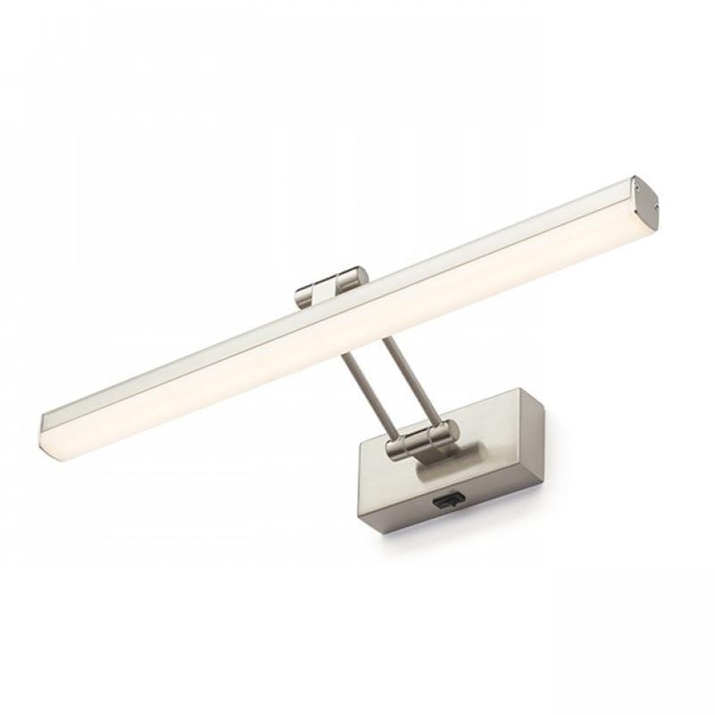 Sieninis LED šviestuvas Swing Brushed Aluminium