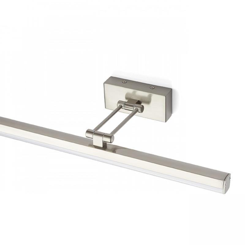 Sieninis LED šviestuvas Swing Brushes Aluminium